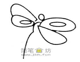 儿童简笔画蜻蜓的画法及图片大全