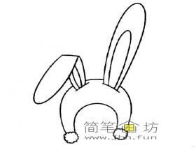 5幅兔子的画法简笔画图片素材