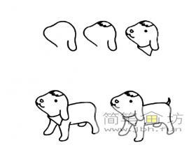 简笔画小羊羔的画法步骤教程