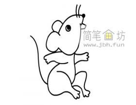 如何画老鼠简笔画教程