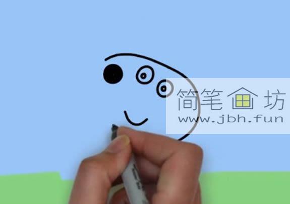 小兔子瑞贝卡的简笔画画法(3)