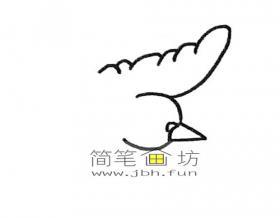 鸽子的简笔画画法详解