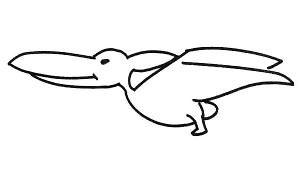 恐龙简笔画图片(11)