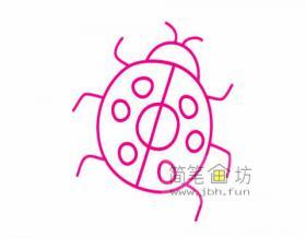 怎么画瓢虫?简单的儿童简笔画瓢虫画法及图片大全