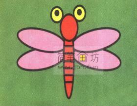 5个步骤教你学会画蜻蜓