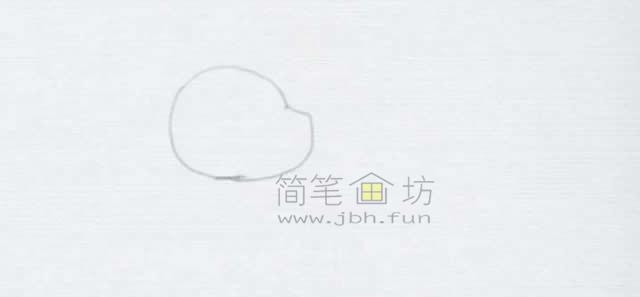 顽皮的小狗简笔画画法【彩色】(1)