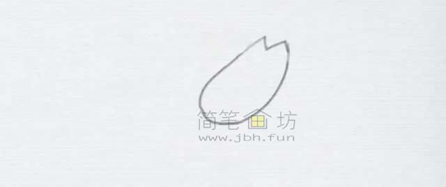 美味的小龙虾简笔画绘画步骤【彩色】(1)