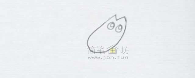 美味的小龙虾简笔画绘画步骤【彩色】(2)