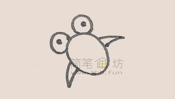 可爱的金鱼简笔画画法教程【彩色】(3)