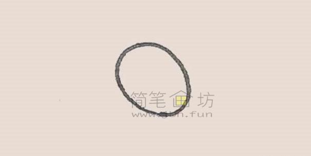可爱的金鱼简笔画画法教程【彩色】(1)