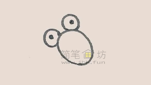 可爱的金鱼简笔画画法教程【彩色】(2)