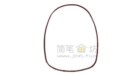 斑马简笔画绘画步骤【彩色】(1)
