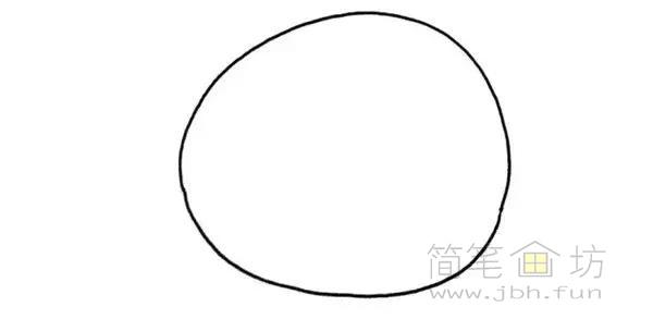 卡通螃蟹简笔画步骤图解教程(1)