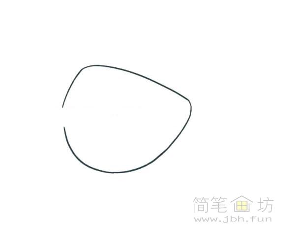 卡通小海鱼简笔画画法图解【彩色】(1)