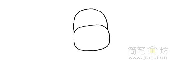卡通小奶牛简笔画步骤图解教程【彩色】(2)