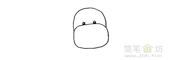 卡通小奶牛简笔画步骤图解教程【彩色】(3)