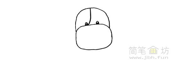 卡通小奶牛简笔画步骤图解教程【彩色】(4)