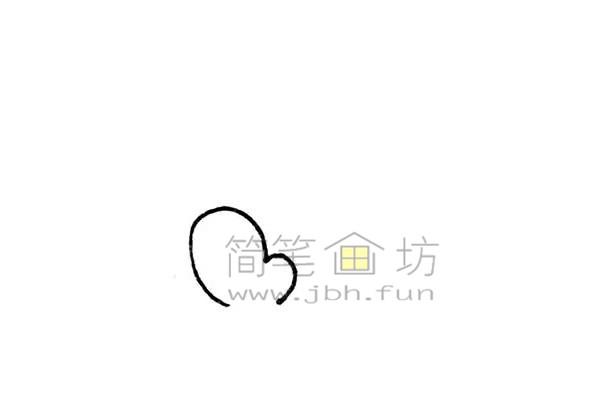 雄伟的金字塔简笔画绘画步骤【彩色】(1)