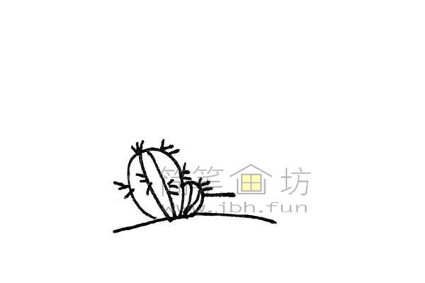 雄伟的金字塔简笔画绘画步骤【彩色】(3)