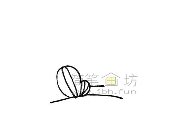 雄伟的金字塔简笔画绘画步骤【彩色】(2)