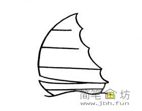 简笔画帆船图片7幅
