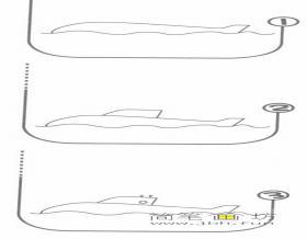 潜艇的简笔画教程