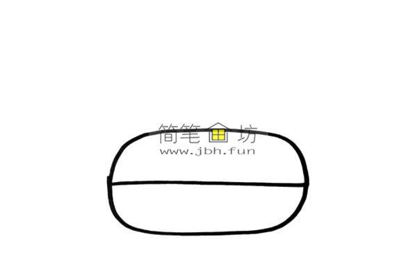 彩色小坦克的儿童简笔画画法(2)