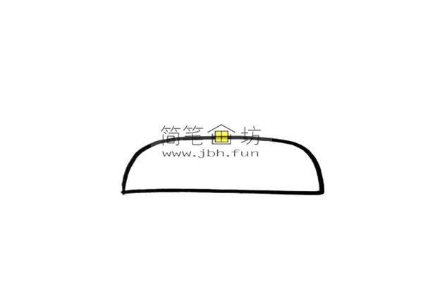 彩色小坦克的儿童简笔画画法(1)