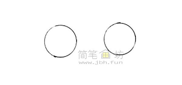 救护车简笔画图片绘画步骤(1)