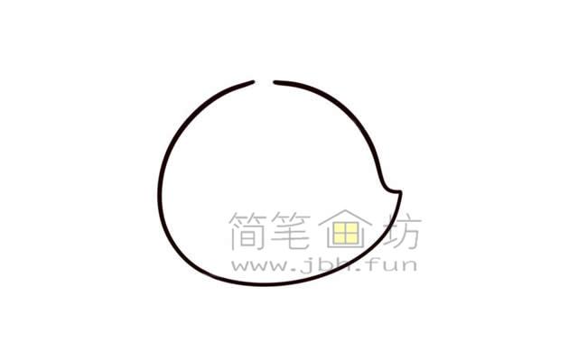 Q版直升机简笔画画法教程【彩色】(2)