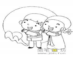 关于中秋节的简笔画图片4幅