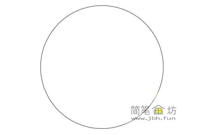 国庆节主题儿童简笔画画法教程(1)