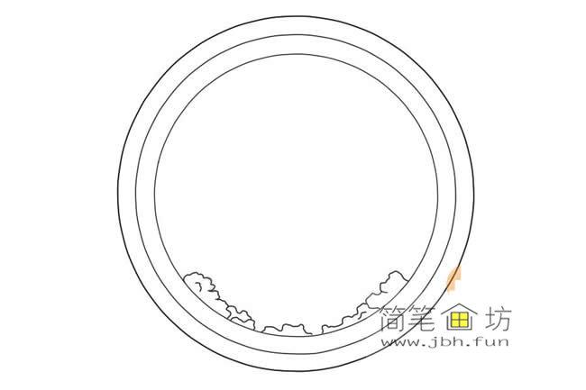 国庆节主题儿童简笔画画法教程(2)