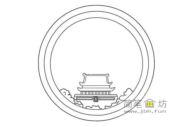 国庆节主题儿童简笔画画法教程(4)