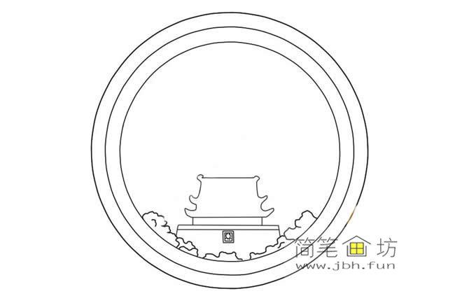 国庆节主题儿童简笔画画法教程(3)