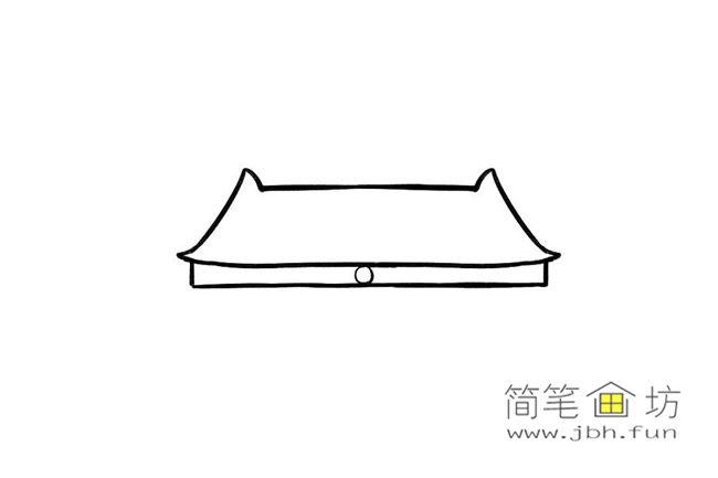 国庆70周年儿童画-庆国庆天安门礼花齐放简笔画教程【彩色】(2)