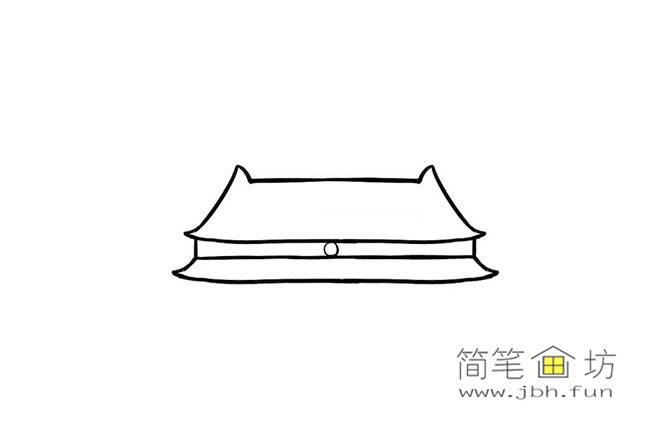 国庆70周年儿童画-庆国庆天安门礼花齐放简笔画教程【彩色】(3)