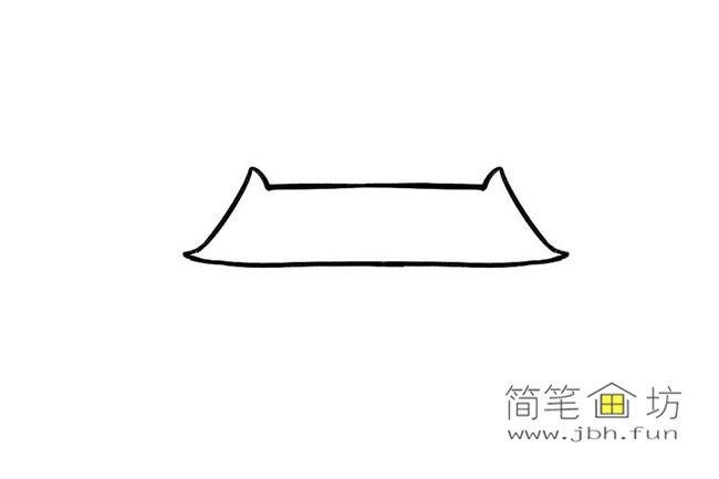 国庆70周年儿童画-庆国庆天安门礼花齐放简笔画教程【彩色】(1)