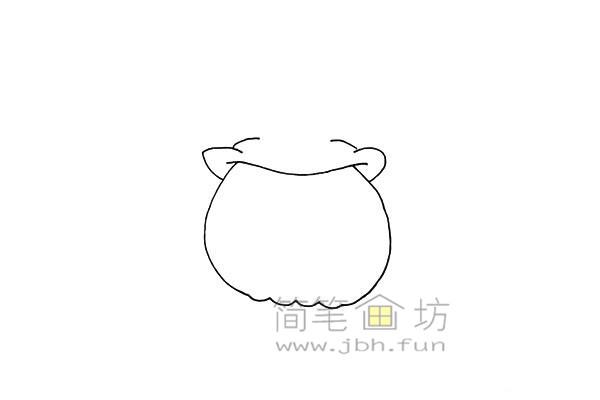 搞怪的万圣节南瓜灯简笔画画法教程【彩色】(3)