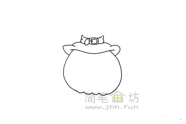 搞怪的万圣节南瓜灯简笔画画法教程【彩色】(4)