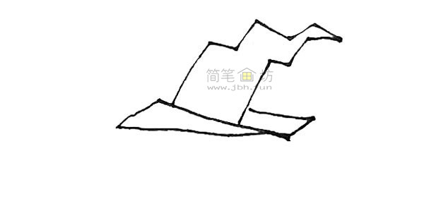学画戴着女巫帽的圣诞节南瓜简笔画【彩色】(2)