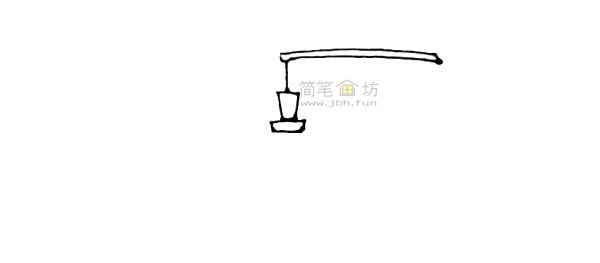 灯笼简笔画绘画步骤及图片大全【彩色】(2)
