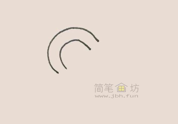拐杖糖简笔画绘画步骤及图片大全【彩色】(1)