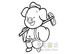 西游记猪八戒的图片1幅