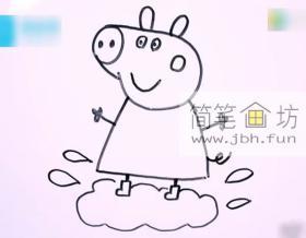 小猪佩奇的简笔画教程详解