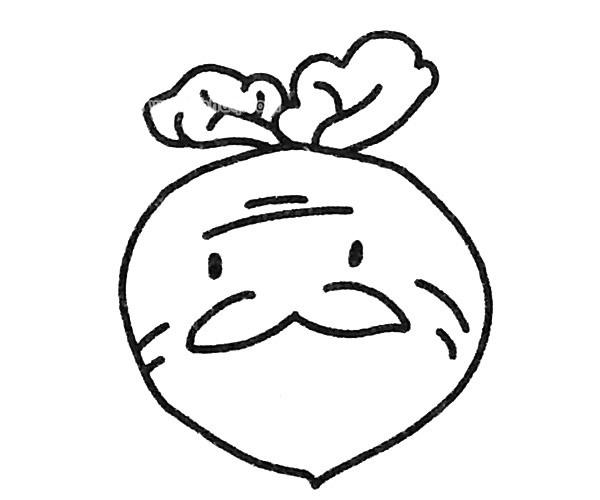 卡通胡萝卜简笔画图片图片