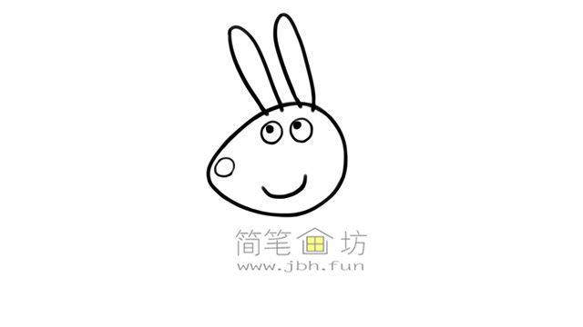 小兔瑞贝卡的彩色简笔画画法教程(3)