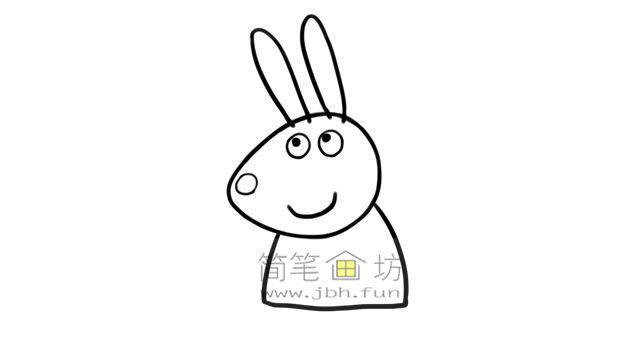小兔瑞贝卡的彩色简笔画画法教程(4)
