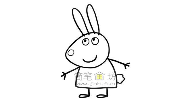 小兔瑞贝卡的彩色简笔画画法教程(5)