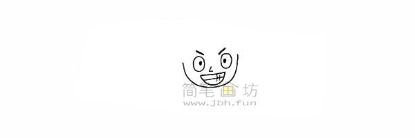 海贼王路飞简笔画简笔画教程【彩色】(4)